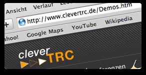 Internetanwendungen mit cleverTRC erstellen!